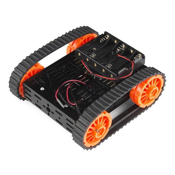 Arduino wifi Metal T200 Crawler Tank from Smaring on